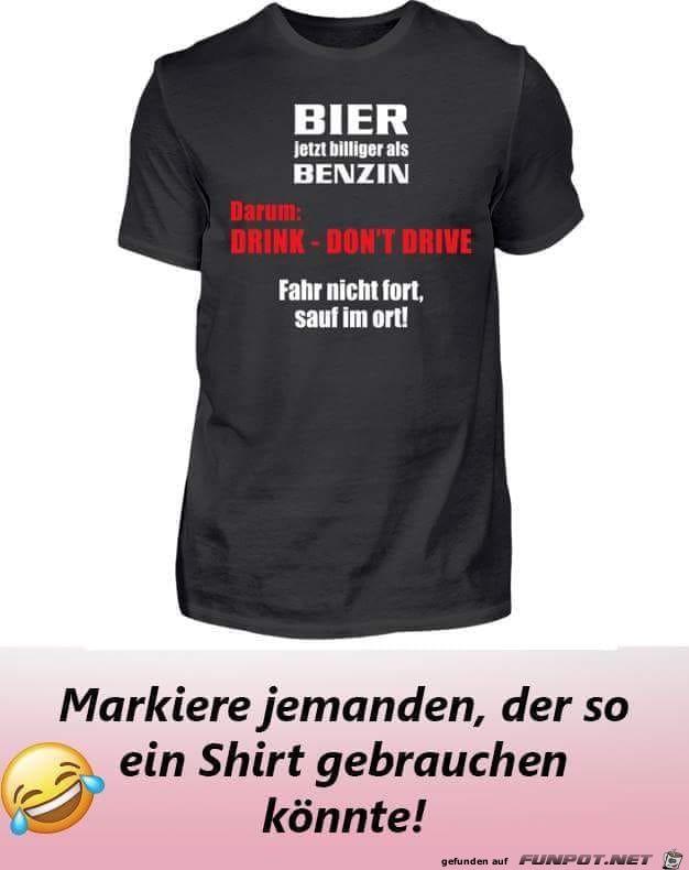 Bier jetzt billiger als Benzin