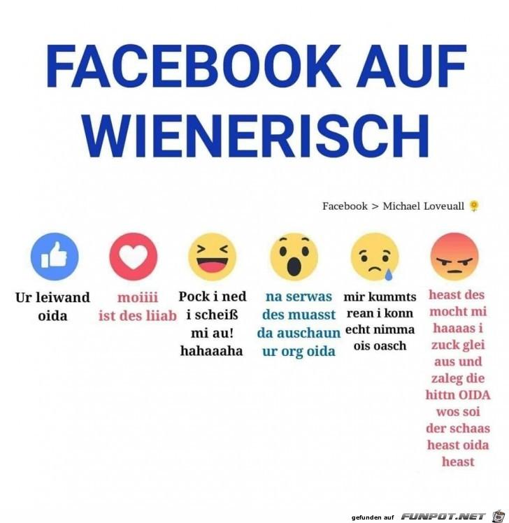 Facebook auf wienerisch...