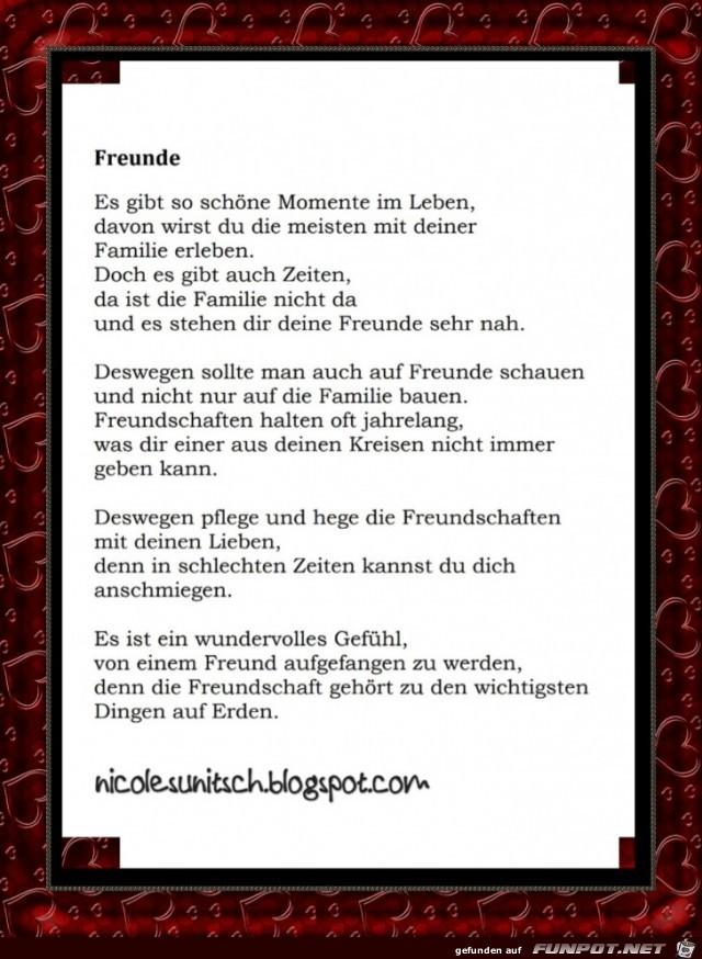 Bin für immer ich freundschaft gedichte dich da Novalis Gedichte