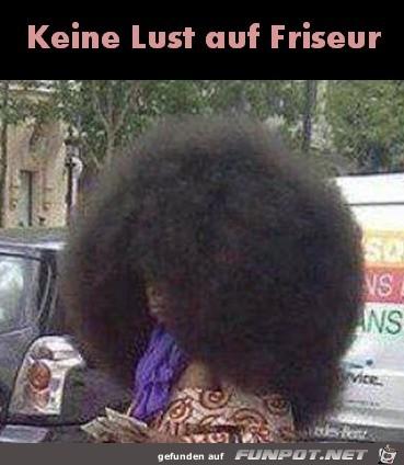 Zeit für den Friseur