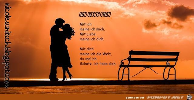 Gedicht - Ich liebe dich