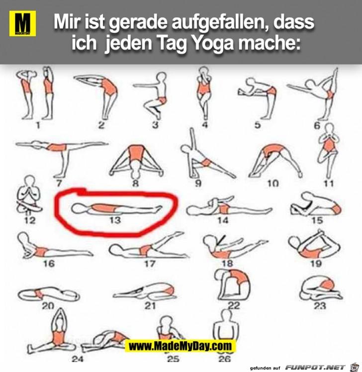 Jeden Tag Yoga