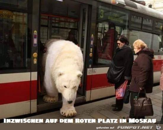 in Moskau.....