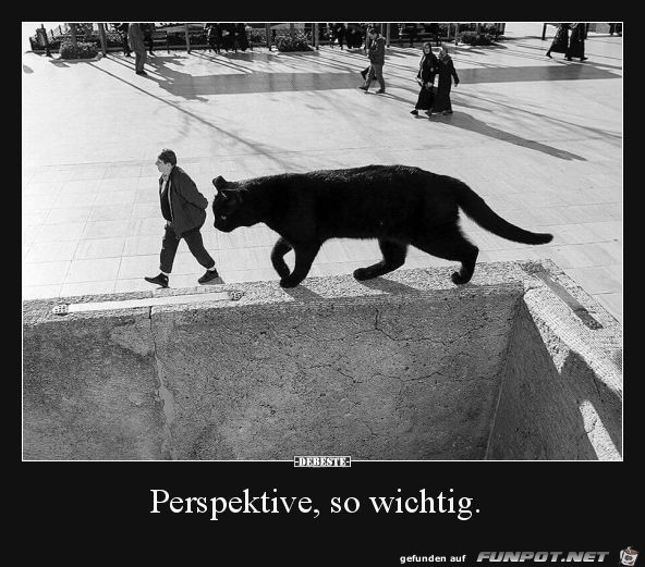 auf die Perspektive kommt es an