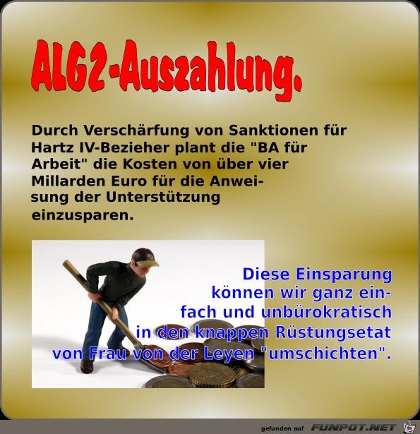 ALG2-Auszahlung