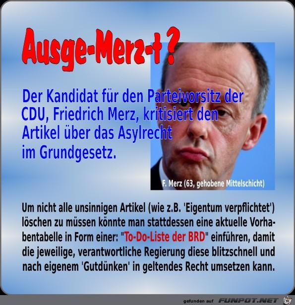 Ausge-Merz-t