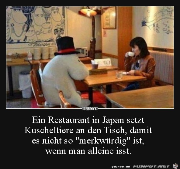 ein Restaurant in Japan.....