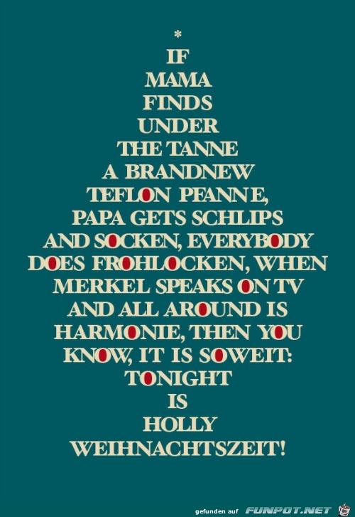 Holly Weihnachtszeit