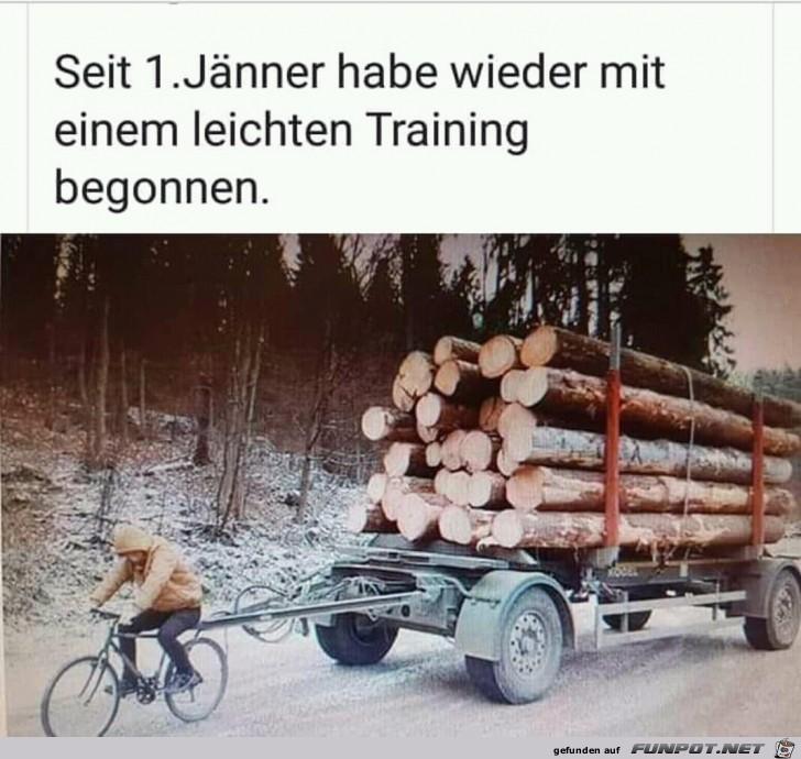 Leichtes Training