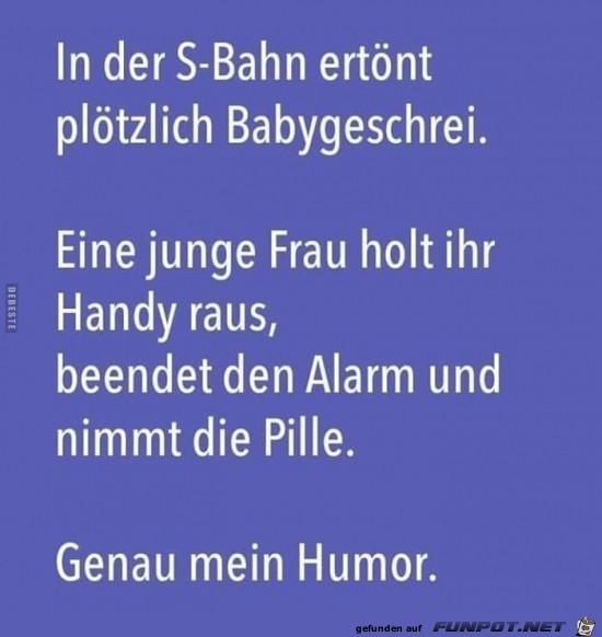 genau mein Humor,.........