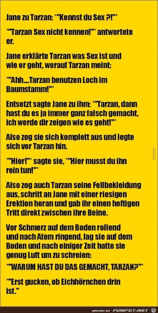 Jane zu Tarzan
