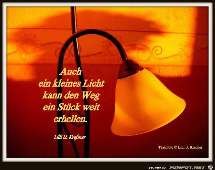 auch ei kleines licht