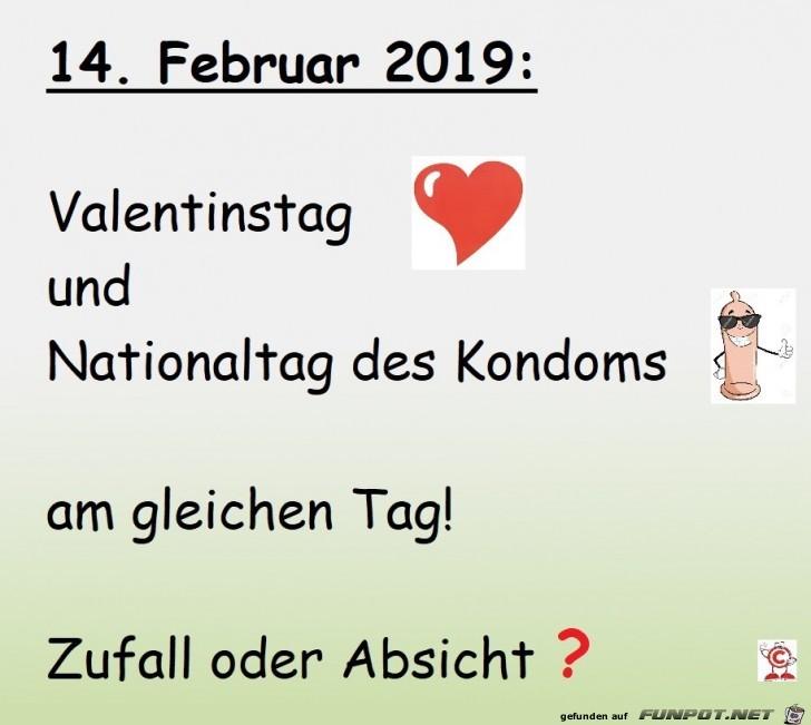 Valentin und Kondom