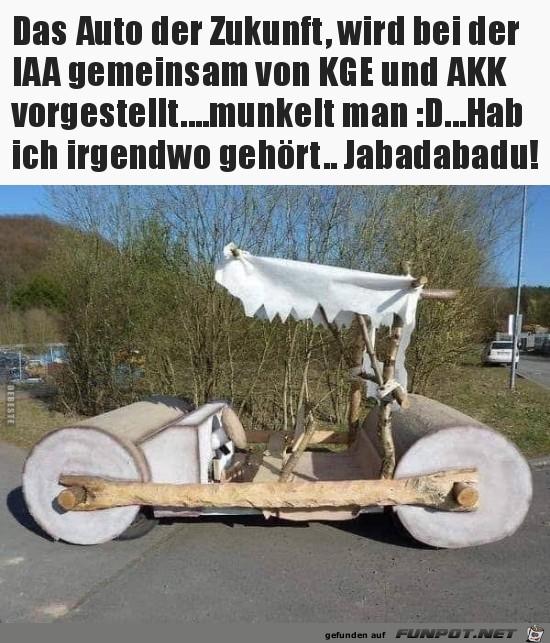 das Auto der Zukunft....
