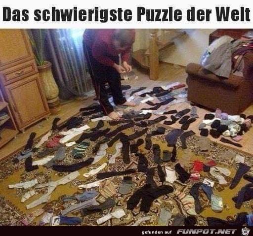 Schwieriges Puzzle