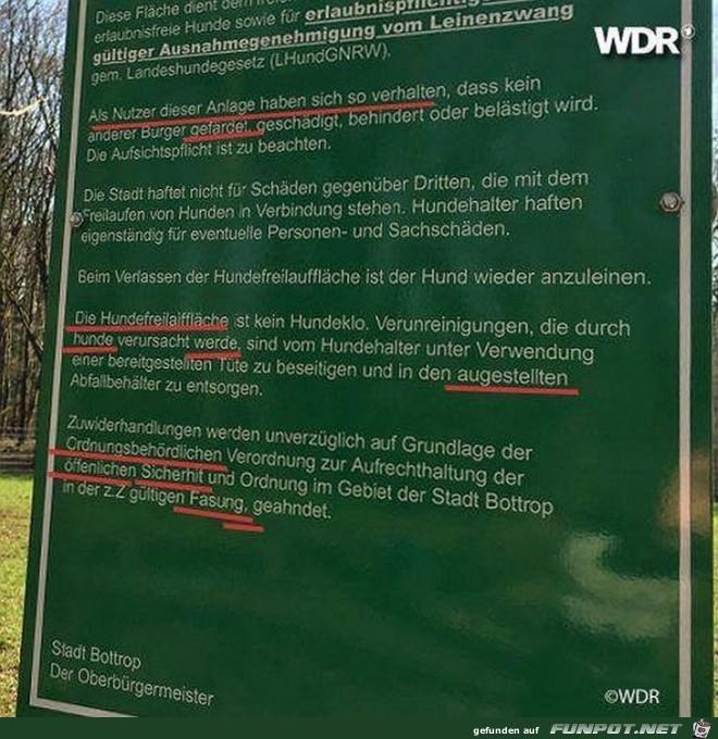 Deutsch ist schwierige Sprache-auch in Bottrop