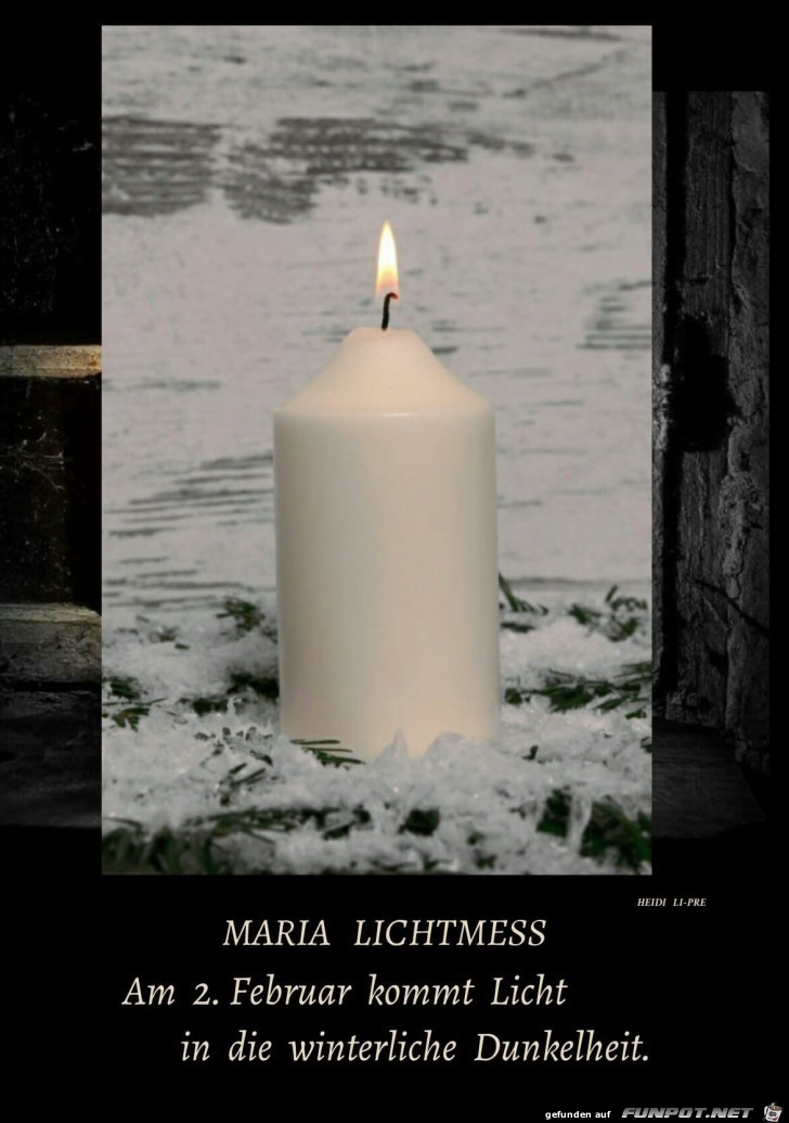 maria Lichtmess