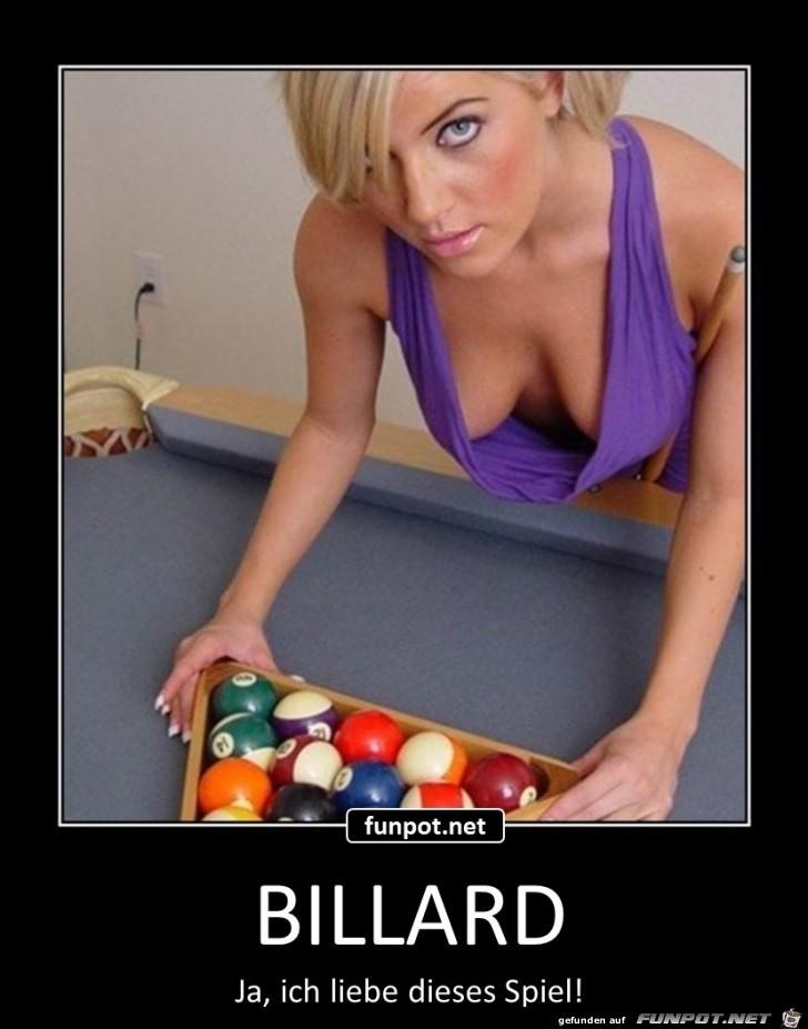Billard - ich liebe dieses Spiel