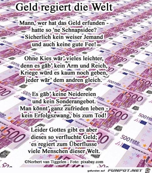 Geld regiert die Welt 2019