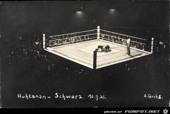 Boxen im Sportpalast