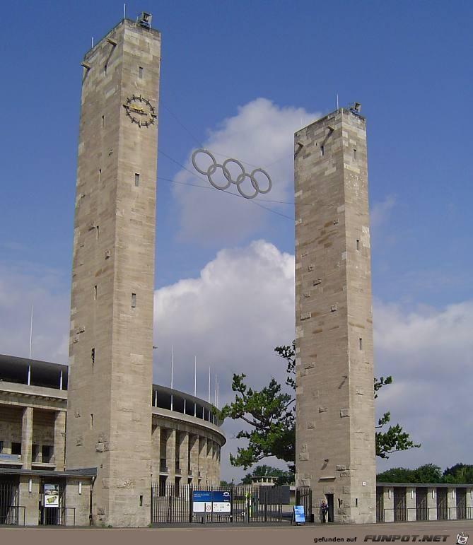 Eingang Berliner Olympiastasdion
