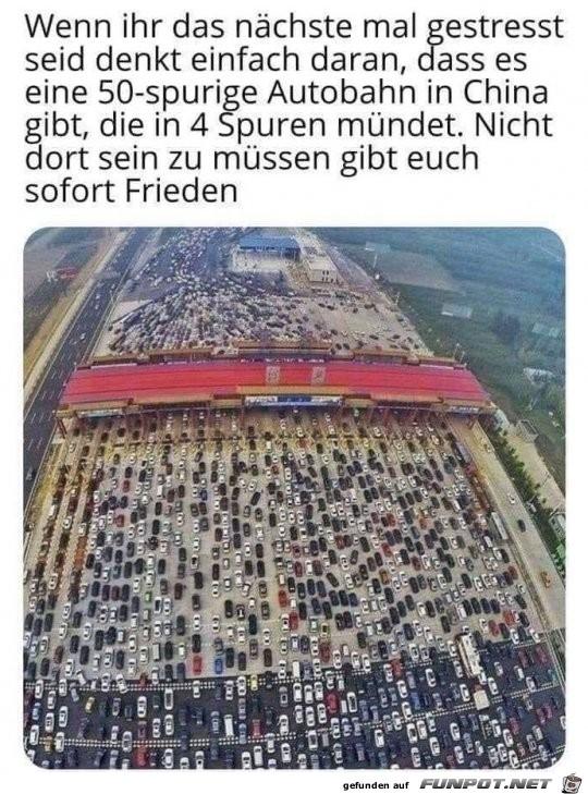 Bisschen Verkehr
