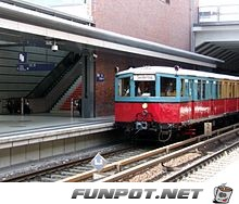 Historischer Zug der S-Bahn Berlin