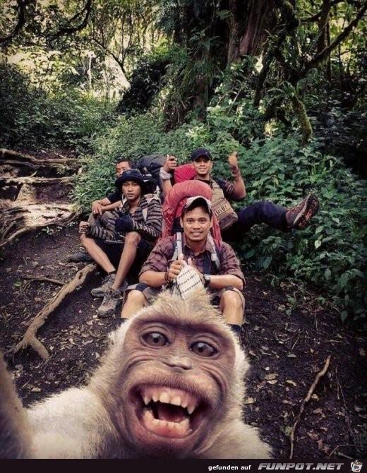 Cooles Selfie