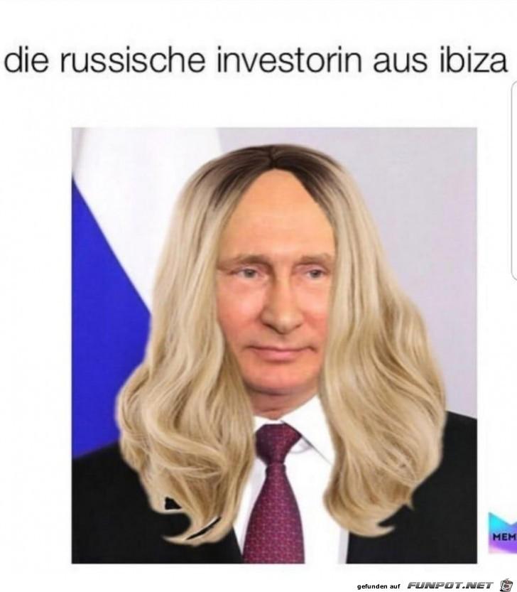die russische investorin