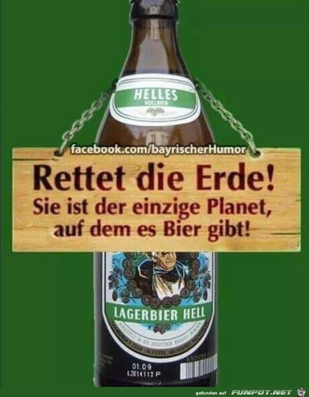 Rettet die Erde