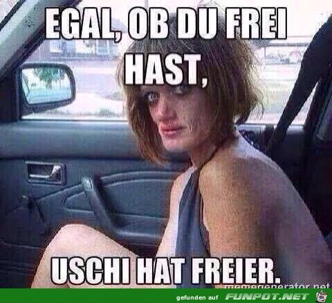 Uschi hat Freier