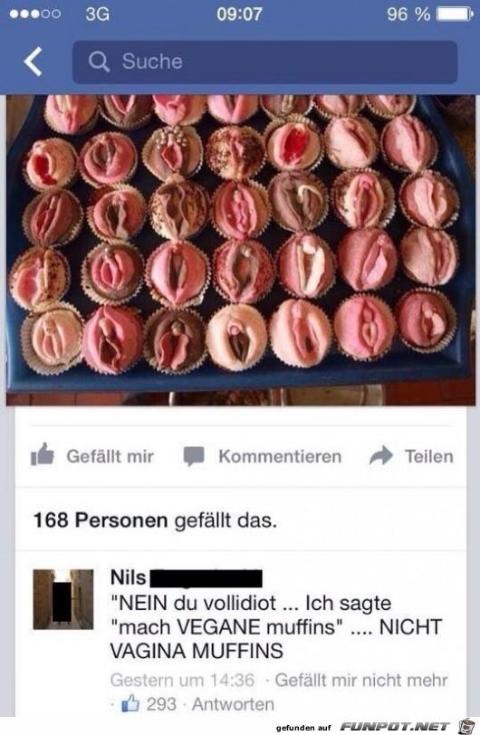 Vagina Muffins