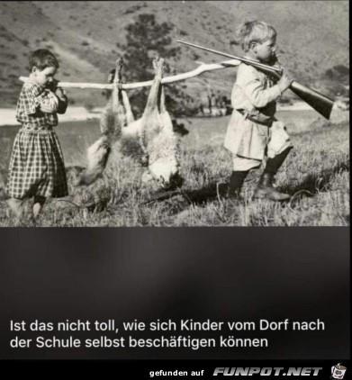 Kinder vom Dorf