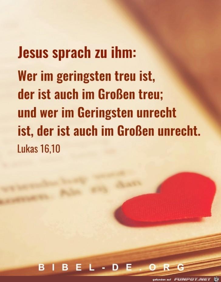 Lukas 16 10