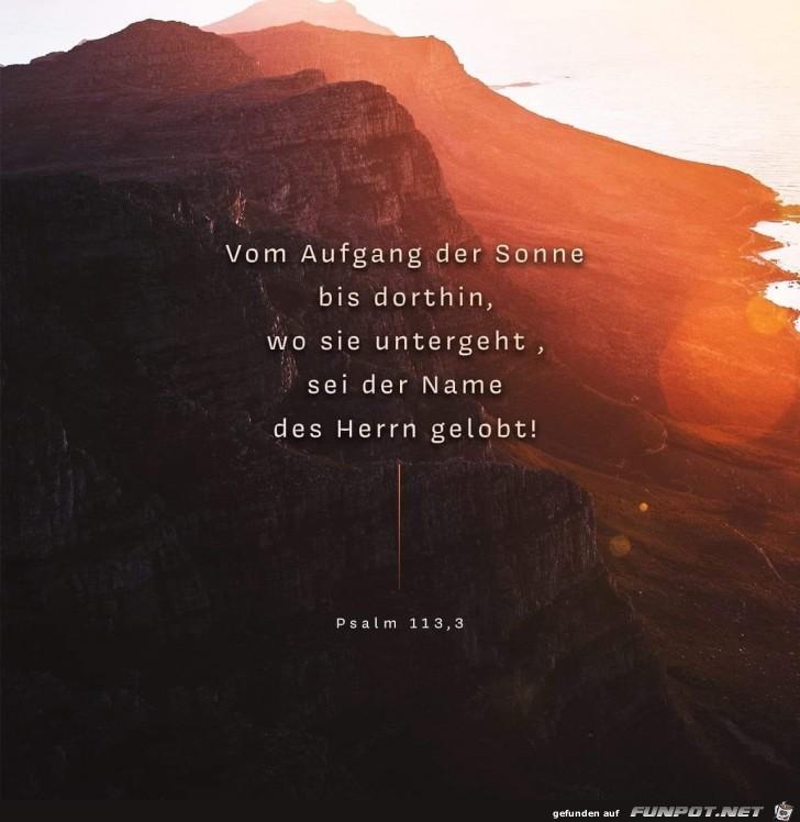 psalm 113 3