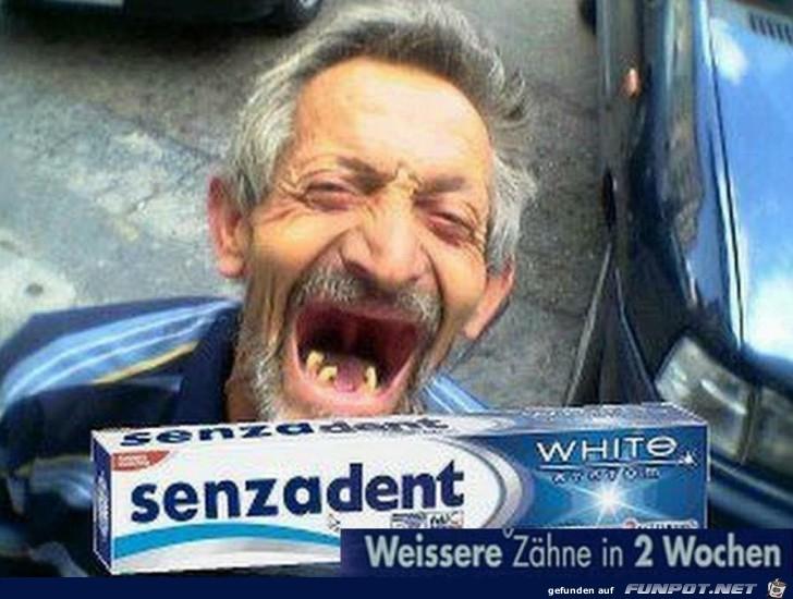 Ohne Zähne