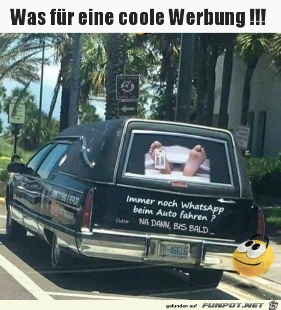 Coole Werbung