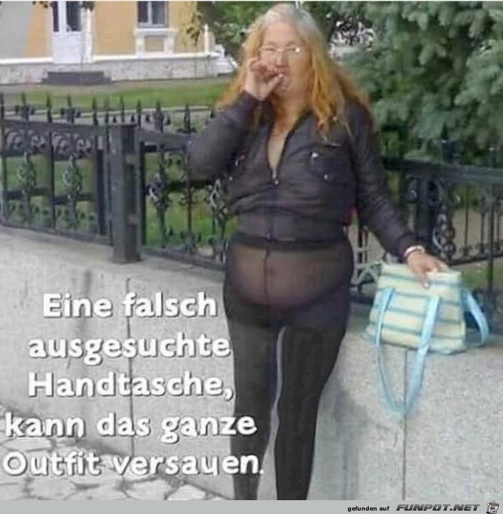 Falsche Handtasche