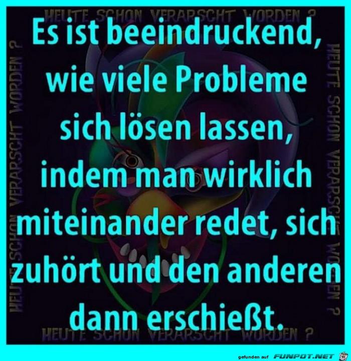 Probleme lösen