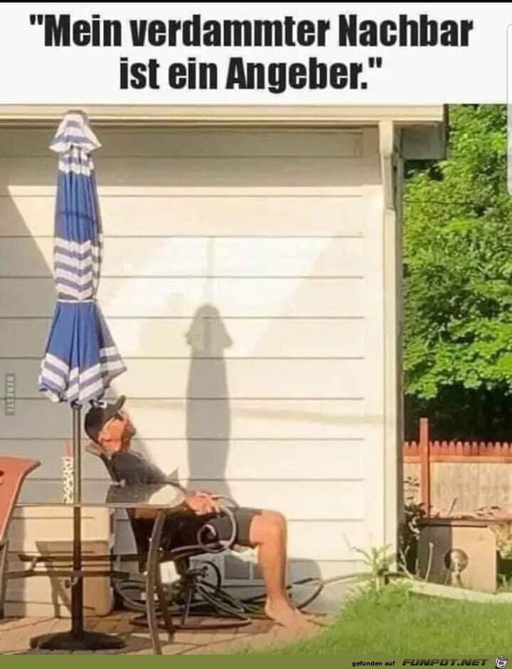 Verdammter Nachbar