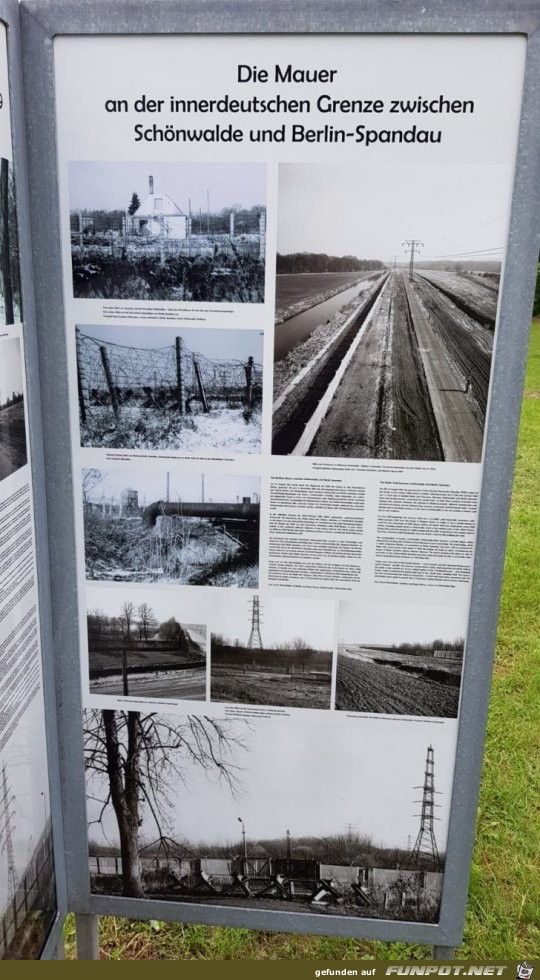 Berliner Mauer in Spandau