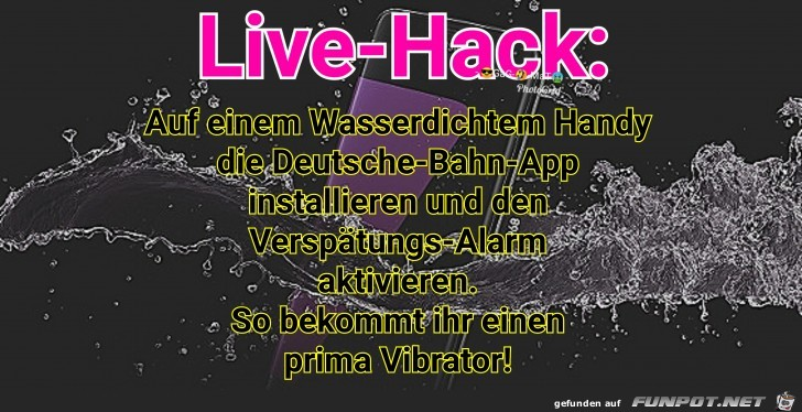 Vibrator LiveHack