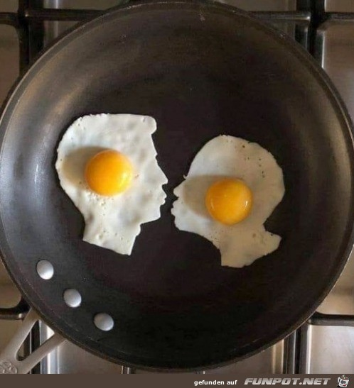 Coole Spiegel-Eier