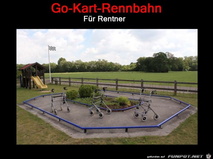 Go-Kart fuer Rentner