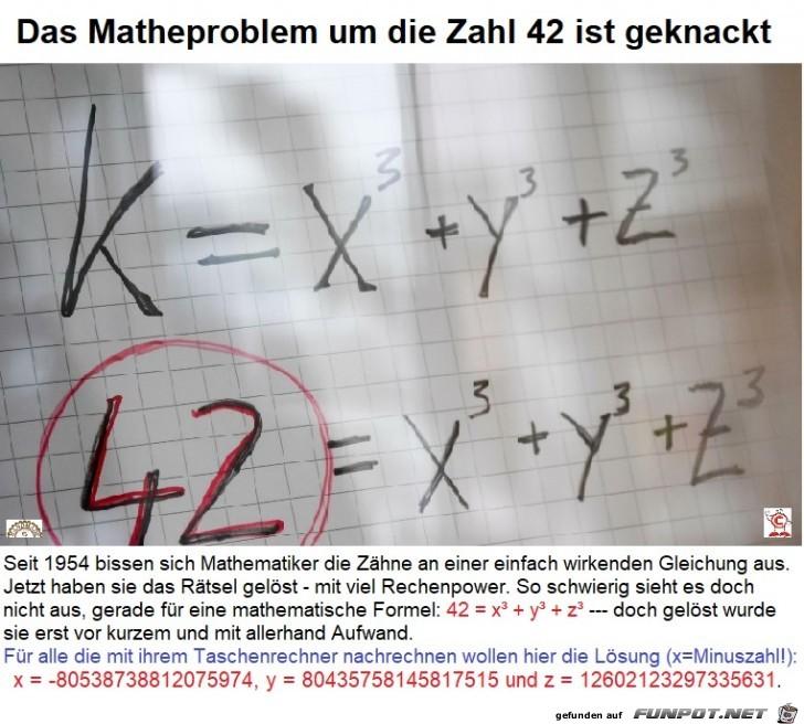 42er-Matheproblem