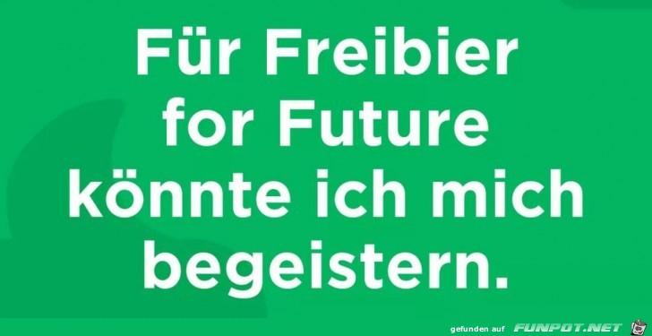 Für Freibier for Future