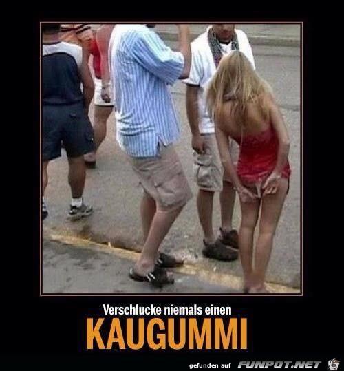 Wie Kaugummi