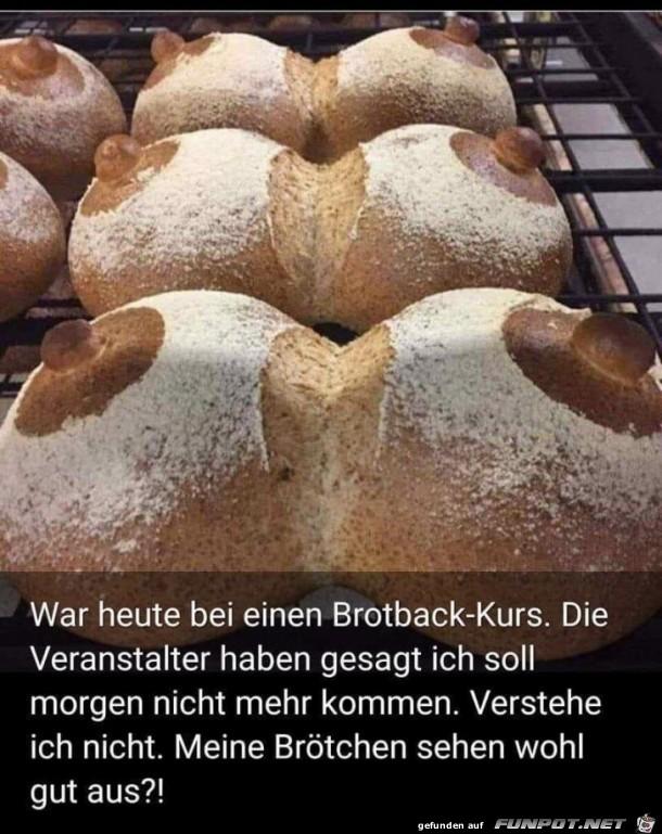 Brotback-Kurs