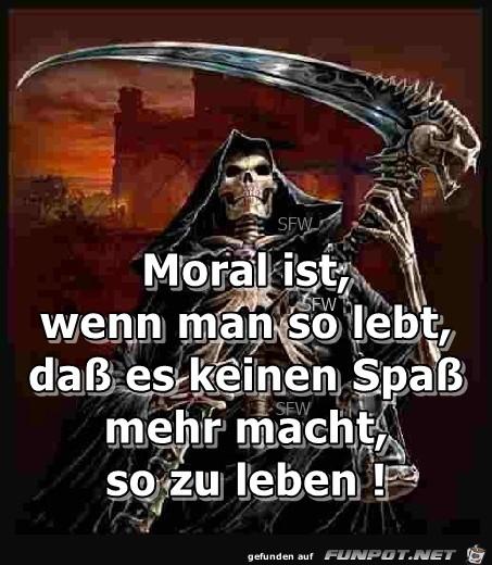 Moral ist