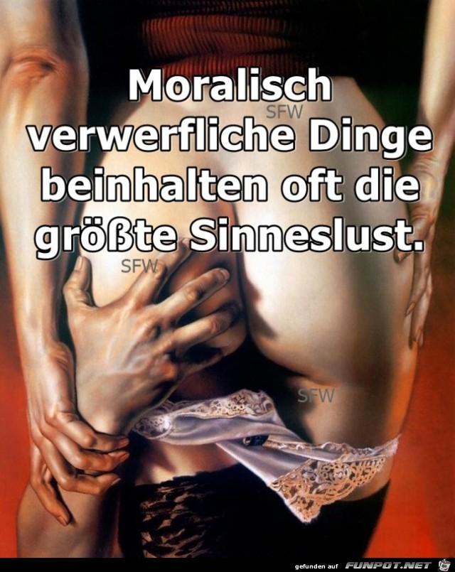 Moralisch verwerflich